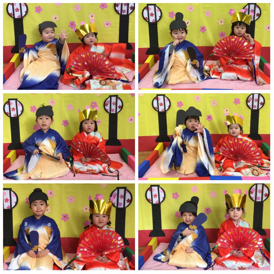 ☆3月3日 雛祭り撮影会☆認可保育所(みつよし園)2