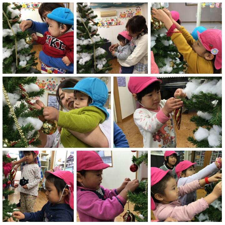 ☆クリスマス会☆認可保育所(みつよし園)1