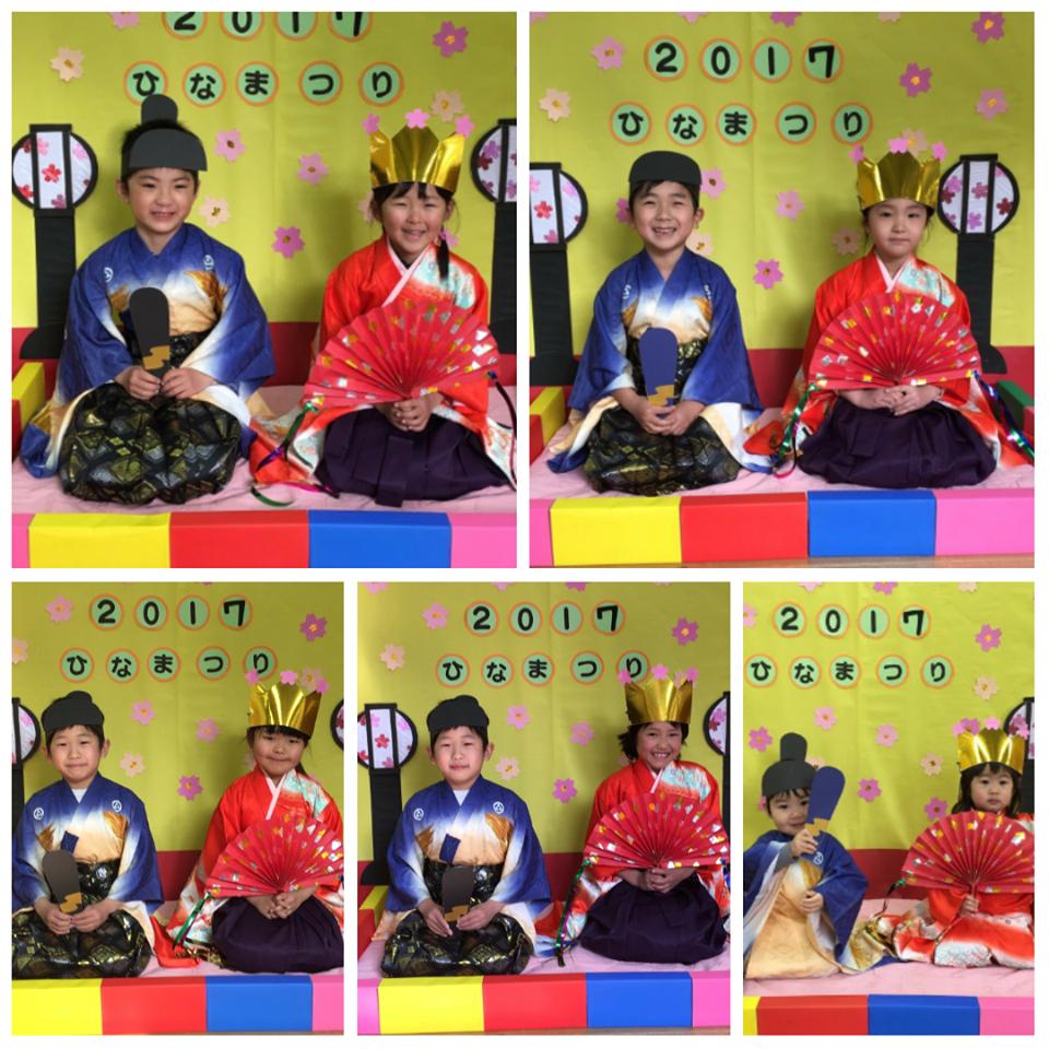 ☆3月3日 雛祭り撮影会☆認可保育所(みつよし園)3