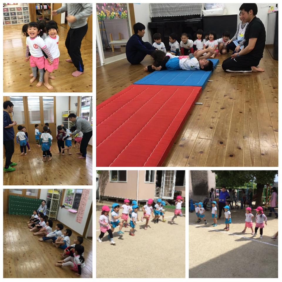☆毎週月曜日のスポーツ遊び教室☆認可保育所(みつよし園)1